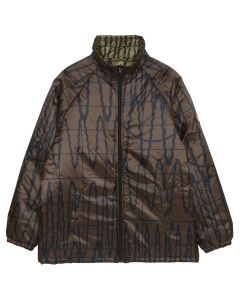 C.E PSI REV ZIP JACKET / BROWN
