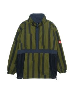 C.E MISALIGNED PULLOVER JACKET / GREEN