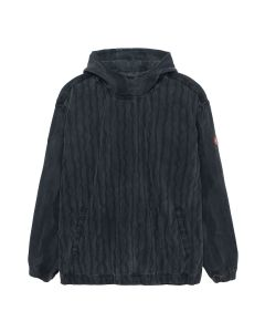 C.E WAVE STRIPE ANORAK / BLACK