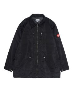 C.E COLLARED ZIP JACKET / BLACK