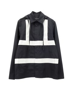 CRAIG GREEN HARNESS HOODED SHIRT / BLACK