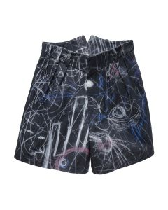Charles Jeffrey LOVERBOY HARVEY MILK SHORTS / CHALK MADNESS