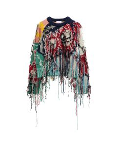 Charles Jeffrey LOVERBOY GUDDLE TASSLE JUMPER / MULTICOLOURED