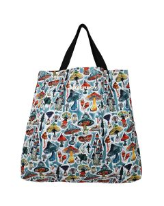 Charles Jeffrey LOVERBOY LARGE TOTE BAG / SHROOMS PRINT