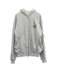 Charles Jeffrey LOVERBOY NERVOUS HOODY / GREY WITH TWISTS