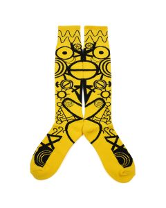 Charles Jeffrey LOVERBOY LOVERBOY SOCK / YELLOW+BLACK