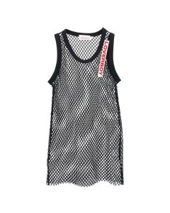 Charles Jeffrey LOVERBOY MESH VEST / BLACK