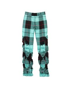 Charles Jeffrey LOVERBOY WIBBLE SUIT TROUSERS / HAMISH CUSTOM TARTAN