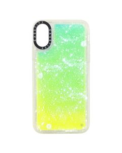CASETiFY x CLOT NEON iPhone CASE X/XS / YELLOW