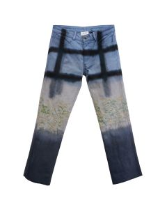 COLLINA STRADA 5 POCKET JEAN / NAVY FLORAL GRID