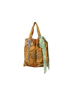 COLLINA STRADA QUILTED MEME BAG / MULTI