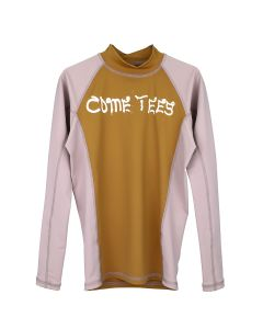COME TEES RASHGUARD / FRENCH ROSE-TAUE