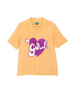 GOLF WANG CUPID BUTTON UP / ORANGE