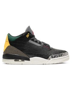NIKE AIR JORDAN 3 RETRO SE / 003 : BLACK/BLACK-WHITE-GEOGE GREEN