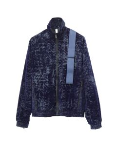 COTTWEILER HARNESS TRACK TOP / NAVY