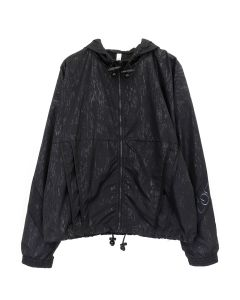 COTTWEILER LOTUS HOODED JACKET / BLACK