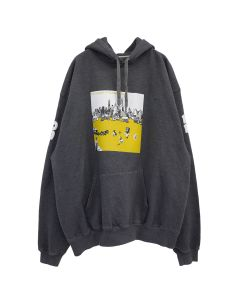 Denim Tears SUMMER OF HISSING TEARS HOODIE 12 / GREY