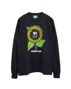 Denim Tears CERAMIC TEARS L/S T-SHIRT / BLACK