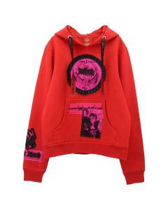 Dilara Findikoglu DARK ANGEL SWEATSHIRT / RED