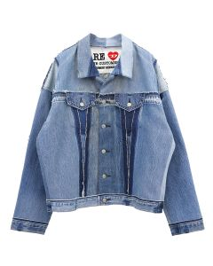 DIESEL RED TAG PROJECT BY READYMADE RM JK01 GIACCA / BLUE DENIM