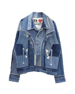DIESEL RED TAG PROJECT BY READYMADE RM SH01/CAMICIA / BLUE DENIM