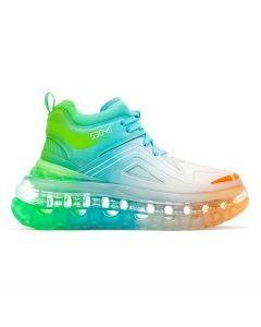 [お問い合わせ商品] SHOES 53045 BUMP'AIR ASTROPOP HT / RAINBOW GRADIENT