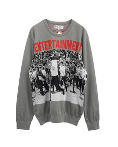 EGUAG ENTERTAINMENT JQ SWEATER / GREY