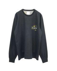 EGUAG x Dr.Woo SWEATER1 / BLACK