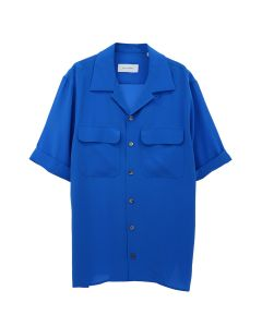 EQUIPMENT THE SHORT SLEEVE ORIGINAL / 073 : BLUE