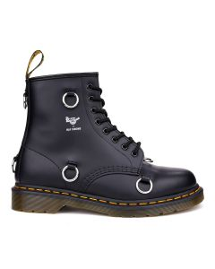 RAF SIMONS x Dr.Martens 1460 RAF SIMONS/DR.MARTENS HIGH SHOES WITH NICKEL RINGS / 99 : BLACK