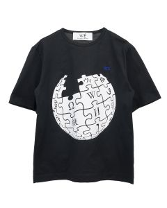 Études UNITY SPHERE WIKIPEDIA T-SHIRT / BLACK