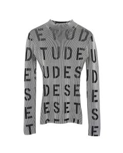 Études JULIETTE TOP STENCIL / BLACK