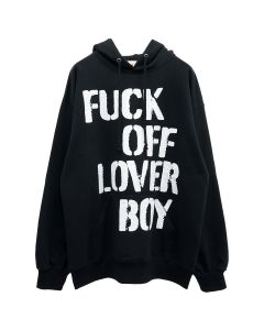 EMOTIONALLY UNAVAILABLE FUCKOFF LOVER B SW HOODIE / BLACK
