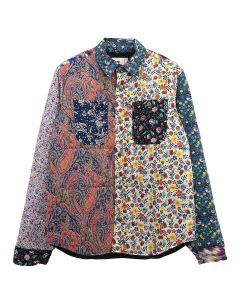 EMOTIONALLY UNAVAILABLE PADDED SHIRT / MULTI