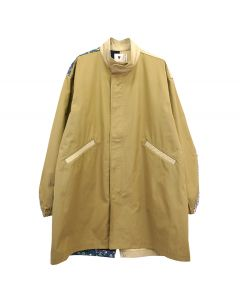 EMOTIONALLY UNAVAILABLE PATCHWORK JACKET / TAN