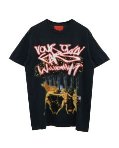 WHO DECIDES WAR YOUR OWN EARS WILL HEAR HIM EDN TEE / BLACK