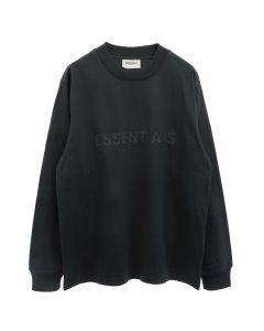 ESSENTIALS HO20 L/S TEE / 001 : BLACK