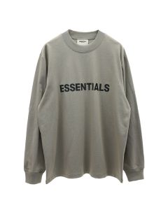 ESSENTIALS HO20 L/S TEE / 504 : CEMENT