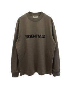 ESSENTIALS HO20 L/S TEE / 119 : TAUPE