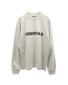 ESSENTIALS HO20 L/S TEE / 242 : OATMEAL