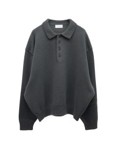 FEAR OF GOD EXCLUSIVELY FOR Ermenegildo Zegna LONG SLEEVE POLO / K07