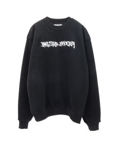 FUCKING AWESOME REVERSIBLE EMPTY DRIP CREWNECK / BLACK
