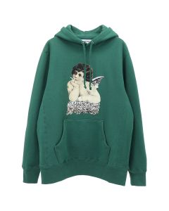 Fucking Awesome ANGEL 2 HOODIE / HUNTER GREEN