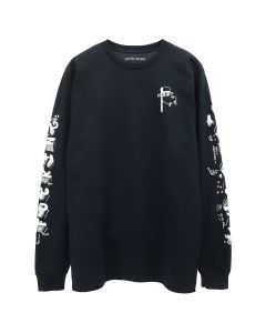 FUCKING AWESOME BLOCK LETTERS L/S TEE / BLACK