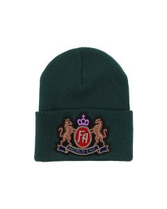 FUCKING AWESOME CREST CLASSIC CUFF BEANIE / KELLY GREEN