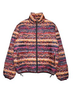 FUCKING AWESOME LIGHTWEIGHT PUFFER JACKET / RED-MULTI