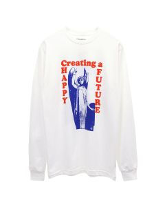FUCKING AWESOME THE FUTURE L/S TEE / WHITE