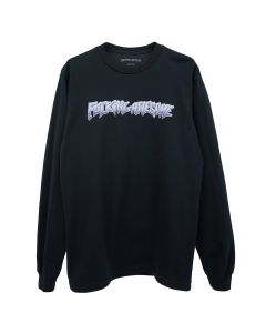 FUCKING AWESOME CHROME L/S TEE / BLACK