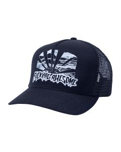 FUCKING AWESOME SUNSET PRE-CURVED SNAPBACK / BLACK