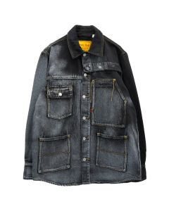 Feng Chen Wang x Levi's Red OVERSIZED JACKET / BLUE-BLACK
